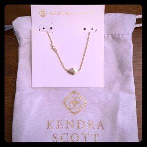 New Kendra Scott Gold Laureen Necklace